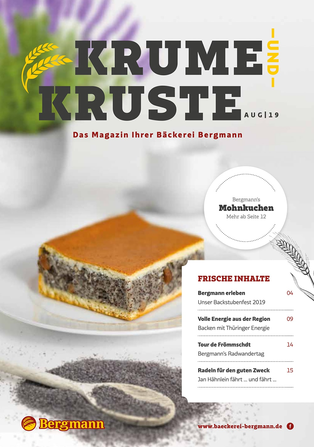 Krume & Kruste - August 2019