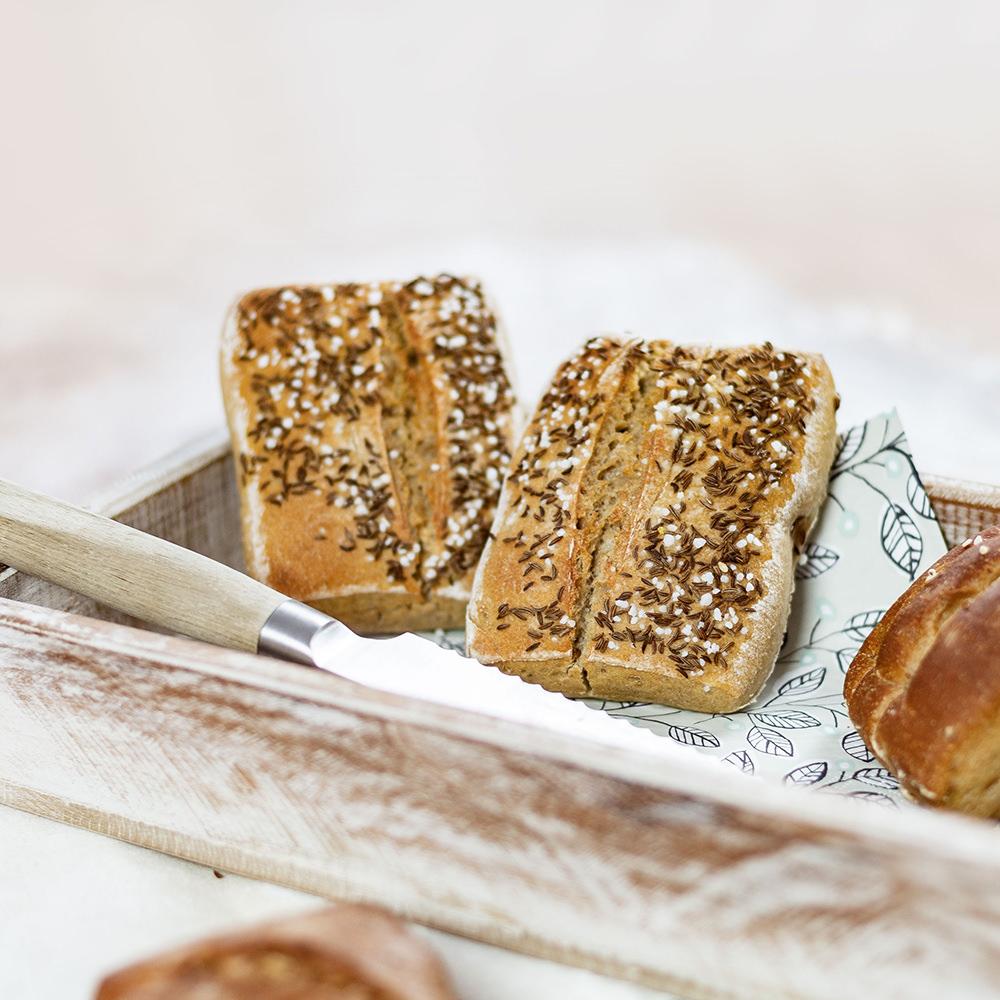 Brotplatz Kümmel Brötchen