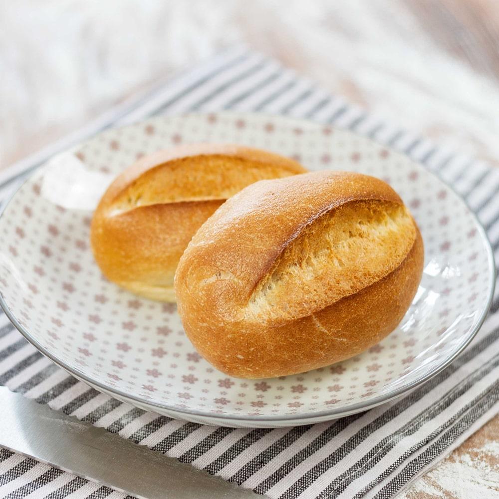 Ofenfrisches Brötchen