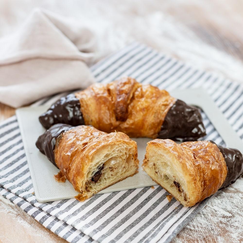 Croissant mit Viba-Nougat